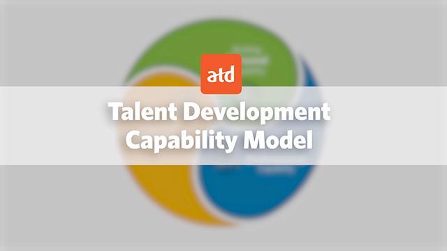 Association for Talent Development, כלומר, הארגון לפיתוח טאלנטים / כישורים (נקראו בעבר ASTD).  הארגון מגדיר את המשימה שלו כך: העצמת אנשי מקצוע לפיתוח כישרונות וכישורים במקומות העבודה.  זה הארגון הגדול בעולם שמייצר תוכן מקצועי, הכשרות והסמכות, מחקרים, כנסים ואירועים עבור מספר מקצועות שנמצאים תחת אותה המטריה, בניהם למידה ארגונית. גלגולו הראשון של המודל הוצג בשנת 2006, והשני יצא ב-2014 כשהוא שונה כמעט לחלוטין מקודמו.  המודל מגדיר את המיומנויות והידע הנדרשים לאנשי המקצוע כדי להצליח עכשיו ובעתיד.  על פי ה-ATD, ענף ה-Talent Development או בקיצור TD, עובר שינוי משמעותי המושפע ממגמות עולמיות כמו: טרנספורמציה דיגיטלית, זמינות מידע, ניתוח דאטה ושותפות בין TD לעסקים וארגונים.  במודל מוגדרים תחומי המומחיות, המיומנויות, הכישורים והידע של אנשי ה-TD.  אגב, ל-ATD יש הסמכה יוקרתית שנקראת CPLP שהמסיימים אותה נבחנים ומוכשרים בכל עשרת תחומי ההתמחות במודל.  ← מילה מהדוקטור  סוף סוף זה קרה! ATD עדכנו את מודל הכשירויות שלהם שיצא לאחרונה ב 2014 ומאז, למרות כל השינויים הדרמטיים בשוק הלמידה ושוק בעבודה בכלל, לא עודכן. המודל העדכני רב שכבתי. המודל מתייחס לתמורות במקצוע ובסביבת העבודה, כמו כן מחזק את היסודות המסורתיים עליהם נשענת הפרופסיה. היכולות הנדרשות על מנת להיות יעילים בעולם העסקי-ארגוני. למעשה מדובר על מיומנויות בינאישיות, המכונות לעתים קרובות מיומנויות רכות, לצורך בניית יעילות תרבות ארגונית או צוותית, אמון ומעורבות.  ← מילה מהדוקטור  חלק זה מתייחס ליכולות בעולם